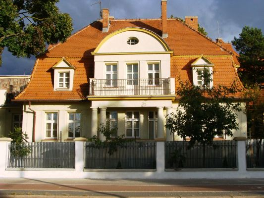 Bydgoszcz, willa komendanta, 1913-1914
