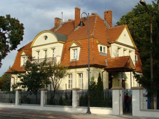 Bydgoszcz, willa komendanta, 1913-1914 a