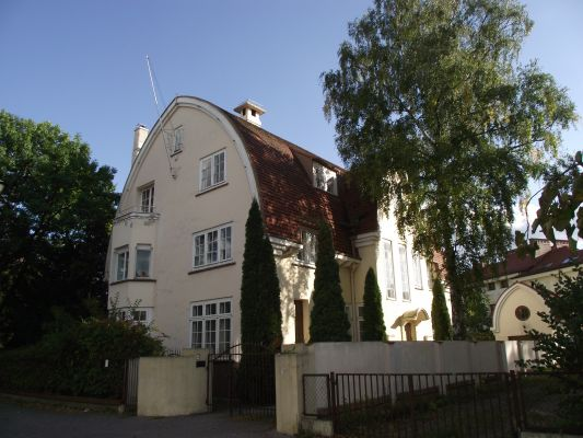 Bydgoszcz ul. Kopernika 16 - Willa z 1934 - 1936 r.