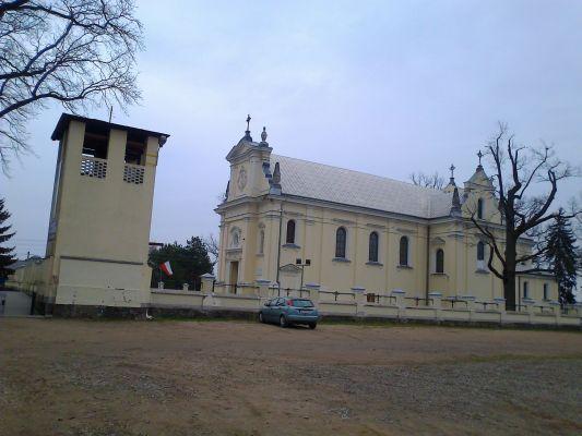 Wola Kiełpińska - kościół Św. Antoniego