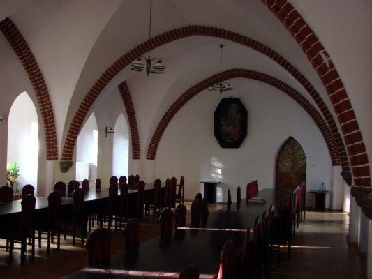 Sala rycerska Zamku Bierzgłowskiego