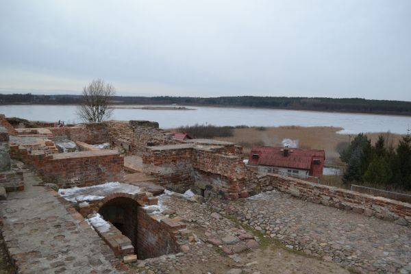 Ruiny zamku Biskupów Pomezańskich w Prabutach