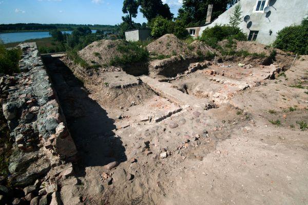 Ruiny zamku w Prabutach