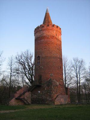 Zamek Biskupów Kamieńskich w Golczewie