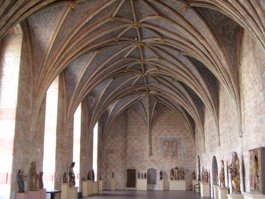 Lidzbark Warminski zamek refektarz
