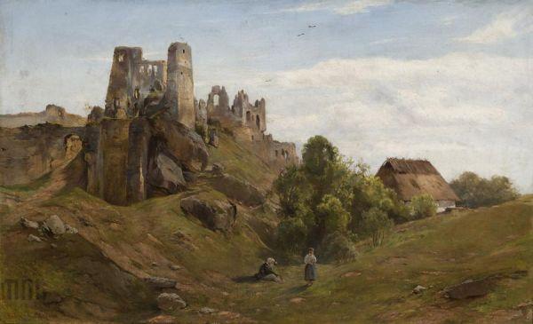 Ruiny Odrzykonia - Henryk Grabiński