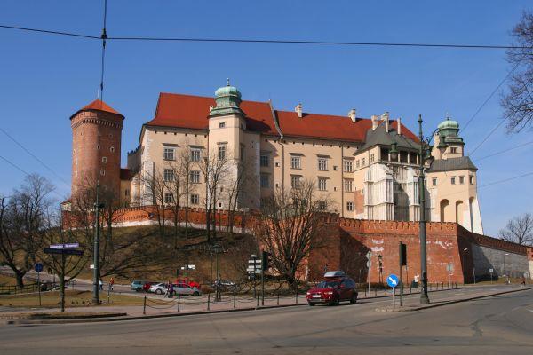 Kraków - Wawel - Widok od wschodu 01