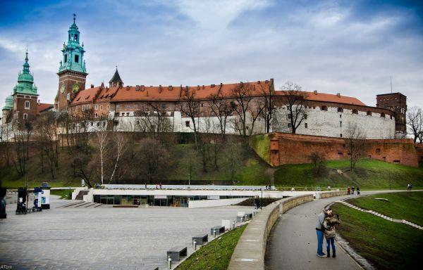 Wawel Royal Castle Krakow Poland by blaat