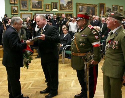 Lech Kaczyński - Zamek w Lublinie
