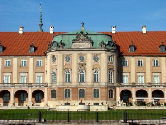 Zamek królewski fasada saska 04