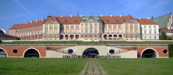 Zamek królewski fasada saska 06