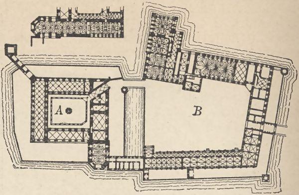 Malborg plan przyziemia zamku