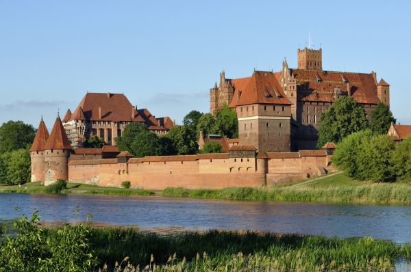 Panorama of Malbork Castle, part 4