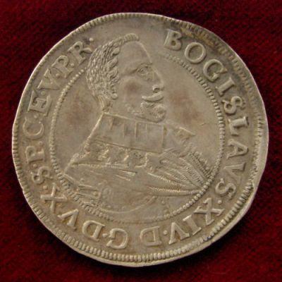 1635 moneta Bogusław XIV Koszalin