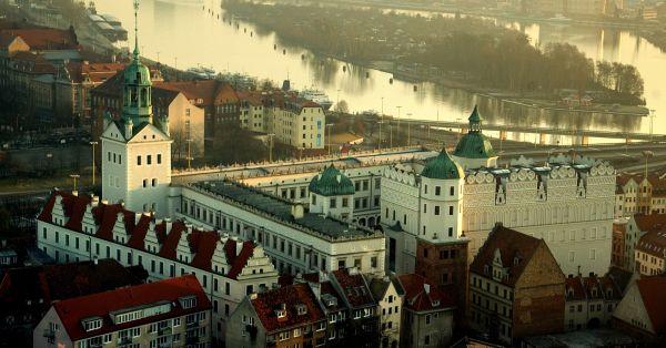 26.Zamek Książąt Pomorskich-widok z katedry1