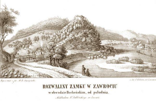Zamek Tropsztyn w Wytrzyszczce