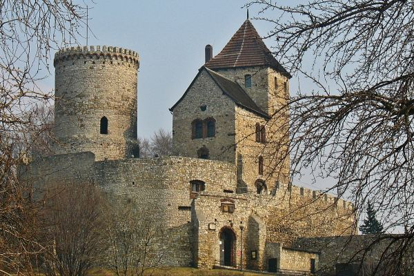 Będzin - Zamek obronny z XIVw.