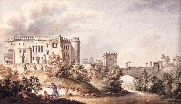 Zamek w Ossolinie by Vogel