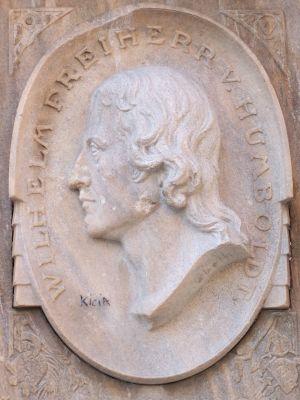 Wilhelm baron von Humboldt