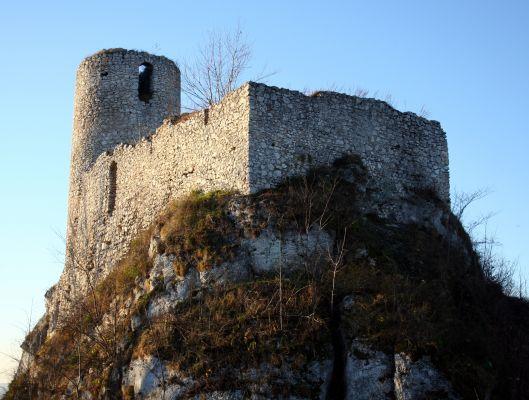Ruiny zamku w Smoleniu 14.10.11 p4