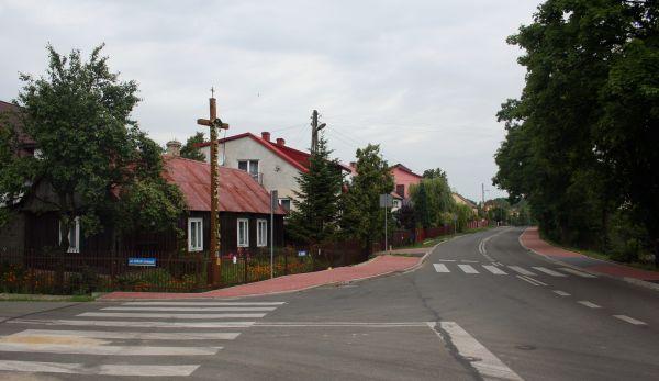 Zrębice fragment wsi 21.07.2012 p