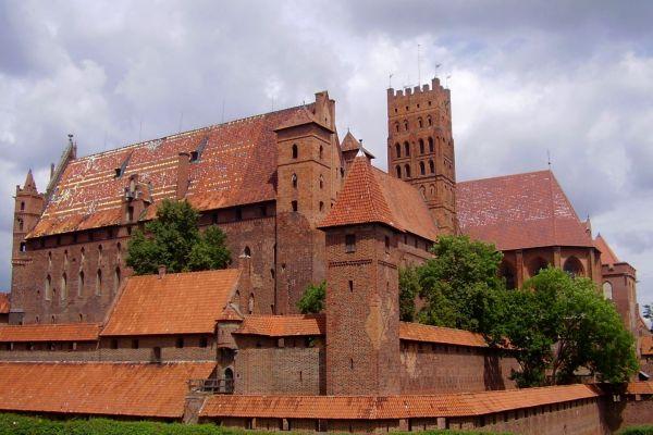 Zamek krzyżacki w Malborku - zamek wysoki