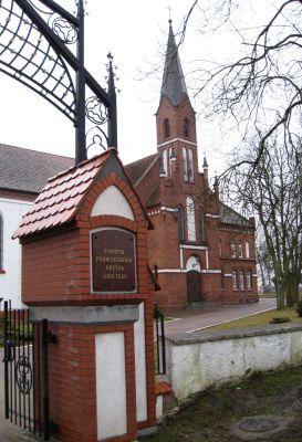 Kościół Podwyższenia Krzyża Świętego w Korszach
