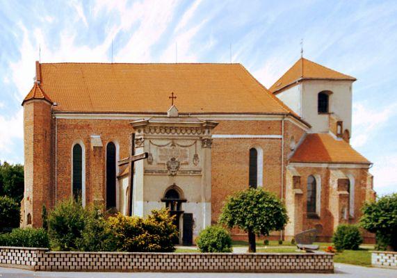 Lwówek, kościół p.w. Wniebowzięcia NPM oraz św. Jana Chrzciciela i św. Jana Ewangelisty