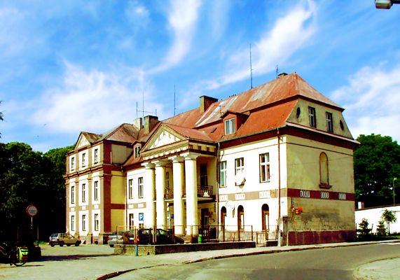 Lwówek, pałac z 1728