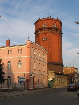 Wieża ciśnień przy ulicy Rybackiej w Brzegu