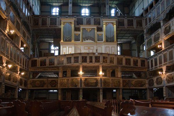 Kościół Pokoju w Jaworze -organy