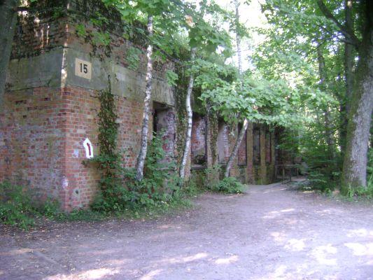 Gierłoż. Wilczy Szaniec. Ruiny domu Hermanna Göringa