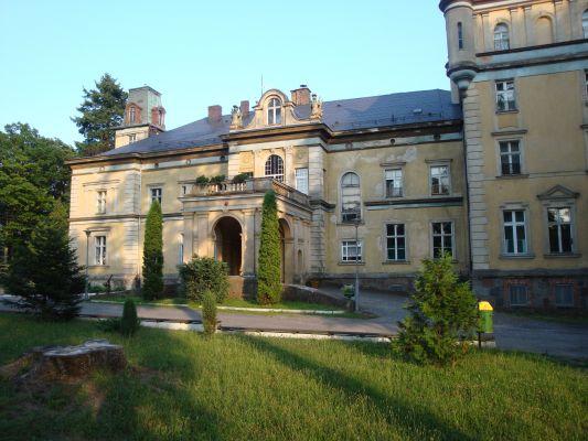 Pałac w Damnicy, obecnie ośrodek szkolno-wychowawczy