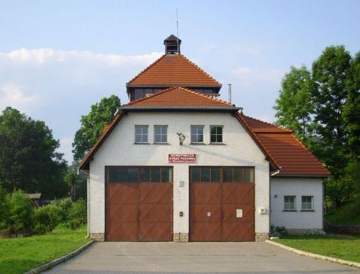 Remiza strażacka w Wambierzycach