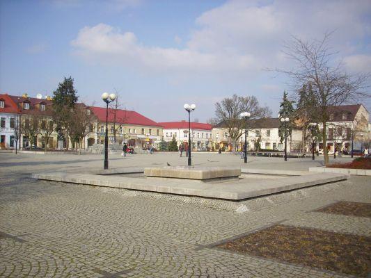 Rynek w Białej Podlaskiej - Plac Wolności