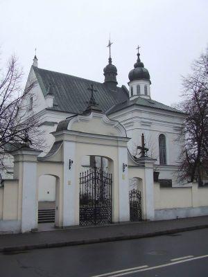 Biała Podlaska - Kościół pw. św. Anny z 1572 r. - dawny zbór ariański