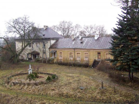 Dziedziniec zamku biskupów łuckich w Janowie Podlaskim
