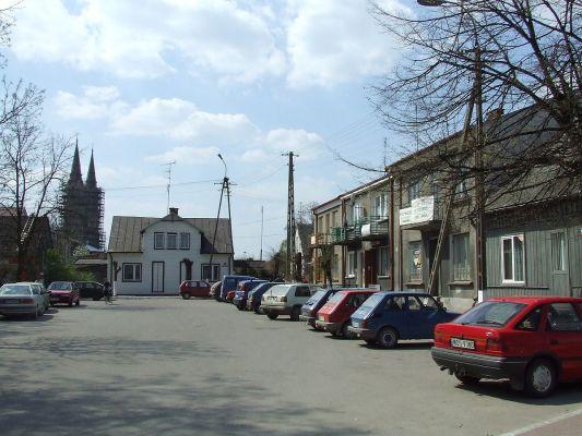 Goworowo - rynek