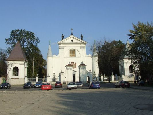 Kościół farny w Węgrowie