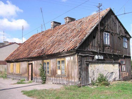 Stary dom w Płońsku