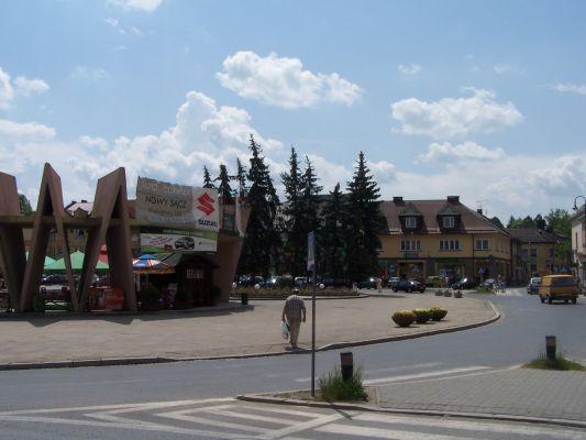 Rynek w Limanowej