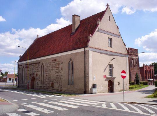 Dawna kaplica Św. Ducha w Pyrzycach (obecnie biblioteka)