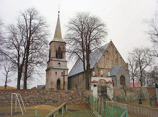 Kościół w Brzesku koło Pyrzyc