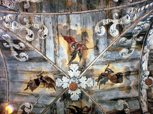 Sanktuarium w Brzesku koło Pyrzyc - pseudosklepienie