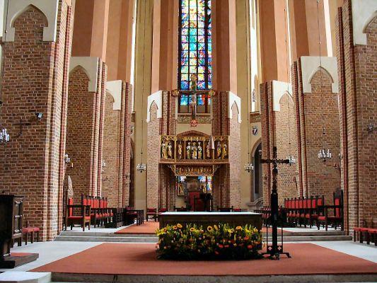 Szczecin Katedra św. Jakuba - prezbiterium