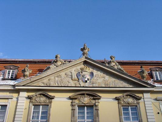 Szczecin - Pałac Sejmu Stanów Pomorskich - tympanon