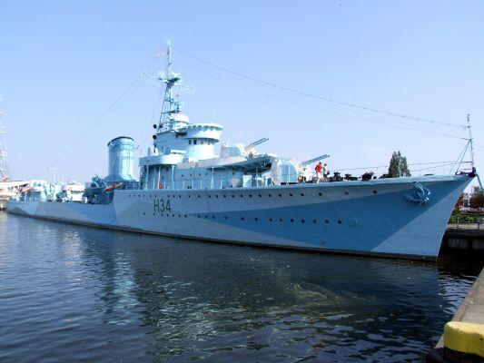 ORP Błyskawica w Gdyni