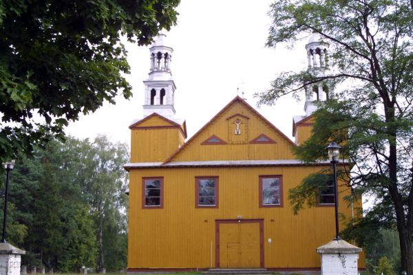 Dąbrówka pow. ostrołęcki. Kościół pw. św. Anny (1891-1892)