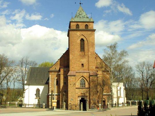Różan. Kościół pw. św. Anny. I poł. XVI w.