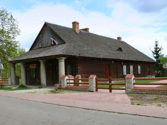Dom z podcieniami w Solcu nad Wisłą